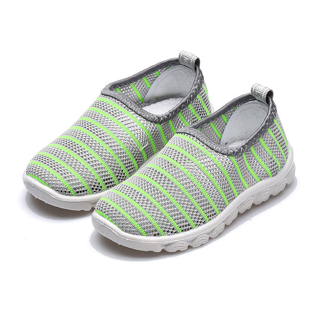 2019 New Summer Fashion Kids Shoes Cut-outs Air Mesh Breathable Shoes For Boys Girls Children Sneakers Baby Boy Girl Sandals 4