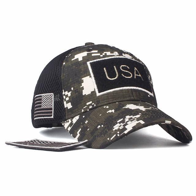 USA Flag Camouflage Baseball Cap USA High quality for men