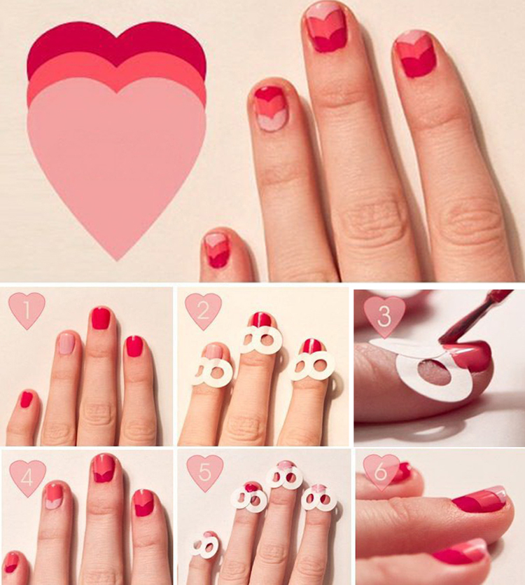 New Fashion 48PCS/Lot Nail Sticker DIY French Manicure Nail Art Decorations Round Form Fringe Guides Nail Sticker 6