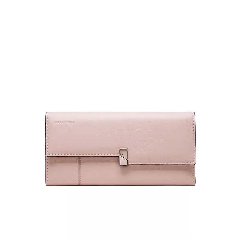 Long wallet ladies wallet fashion wallet card bag female high quality clutch bag wallet 9 card position PU leather wallet in Wallets from Luggage Bags