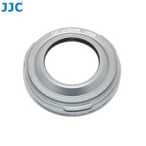 Image 2 - JJC Camera Metal Lens Hood & Lens Adapter for Fujifilm Finepix X100T X100S X100 Digital Camera 30.5mm Lens Hood Filter Diameter