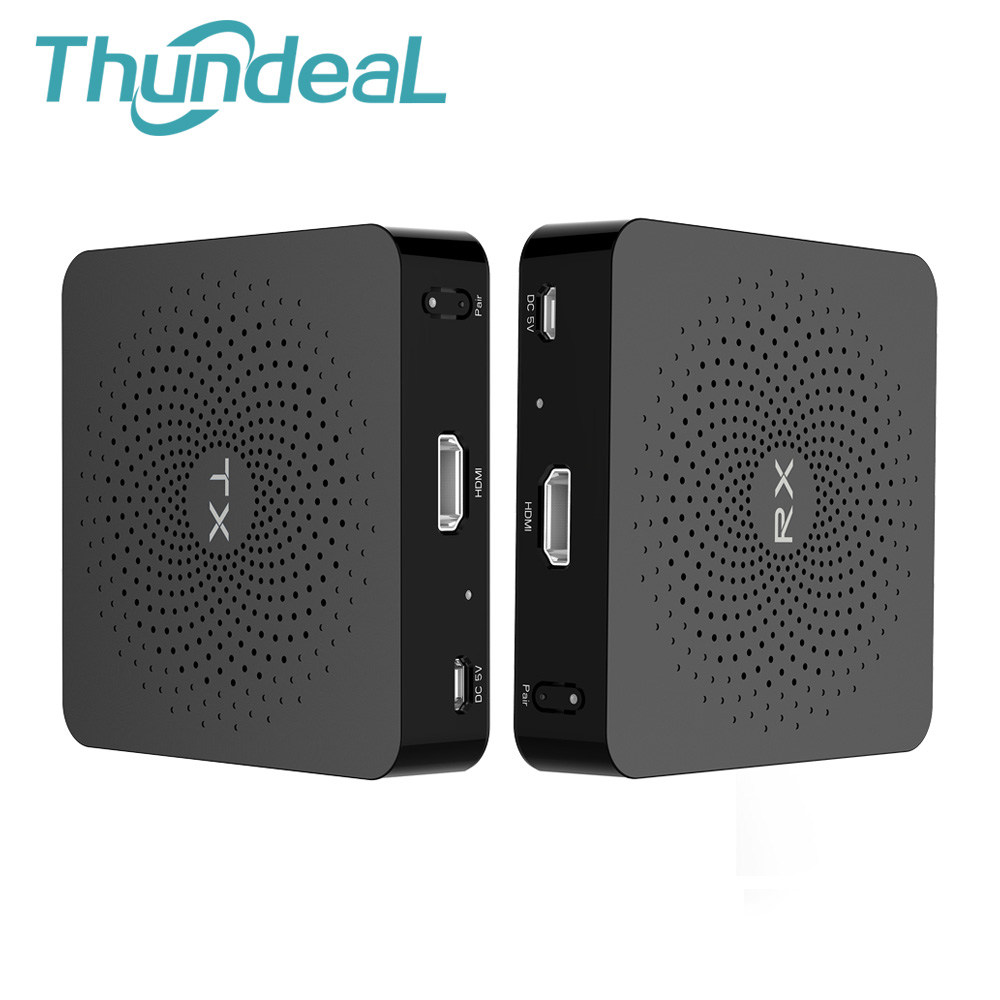 ThundeaL W2H Wireless 60GHz HDMI Transmitter Receiver Kit 30M 100FT HD 1080P Extender Feet Video Audio HDMI Sender Receiver