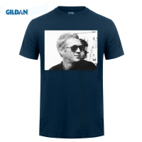 GILDAN Pattern Design Men Steve McQueen Le Mans T Shirts Short Sleeve Round Neck Male T