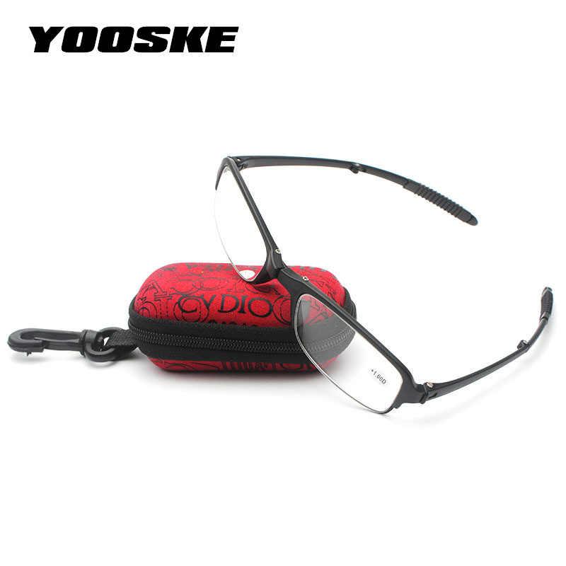 Gafas de lectura de resina asférica HD de moda, gafas de lectura plegables para presbicia plegadas, gafas de lectura masculinas femeninas 1,5 2,0 2,5 3,0 3,5