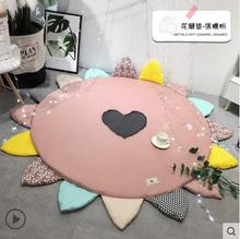 Cartoon Planet Explore Universe Carpet Rugs Soft Thicken Large Round Tapete For Kids Play Area Rug Parlor Bedroom Non-Slip Mats