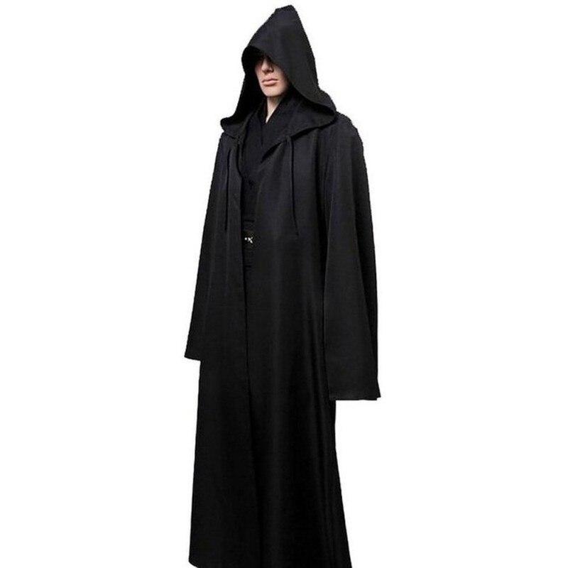 №Star Wars Jedi capa trajes de cosplay hombres adultos con capucha ...