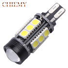 1PCS T15 Canbus Error Free COB Bulbs Cree Chip Emitter LED 921 912 W16W LED Car lamps External Lights 5050 SMD 12V Xenon White