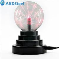 AKDSteel 3 Inch USB Chargeable Magic Electrostatic Ion Ball Night Light AAA Battary New Year Christmas