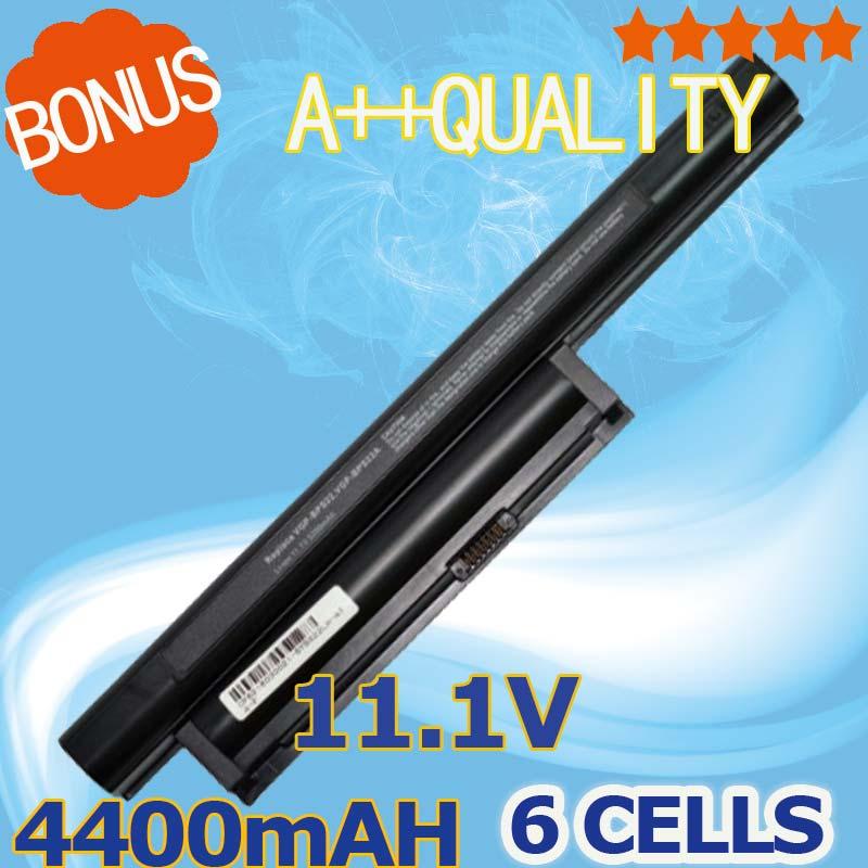 4400mAh 11.1V Battery VGP-BPS22 VGP-BPS22A BPS22 FOR SONY VAIO VPC-E1Z1E EA16E EA1S EA45FG/B VPC-EA1 EA1Z1E EA27EC цена