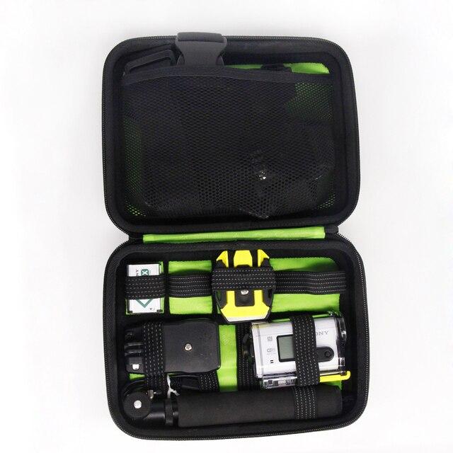 صدمات حمل حالة حقيبة لسوني كاميرا العمل HDR AS15 AS20 AS30V AS100V AS200V HDR AZ1 البسيطة سوني FDR X1000V حماية حقيبة حالة