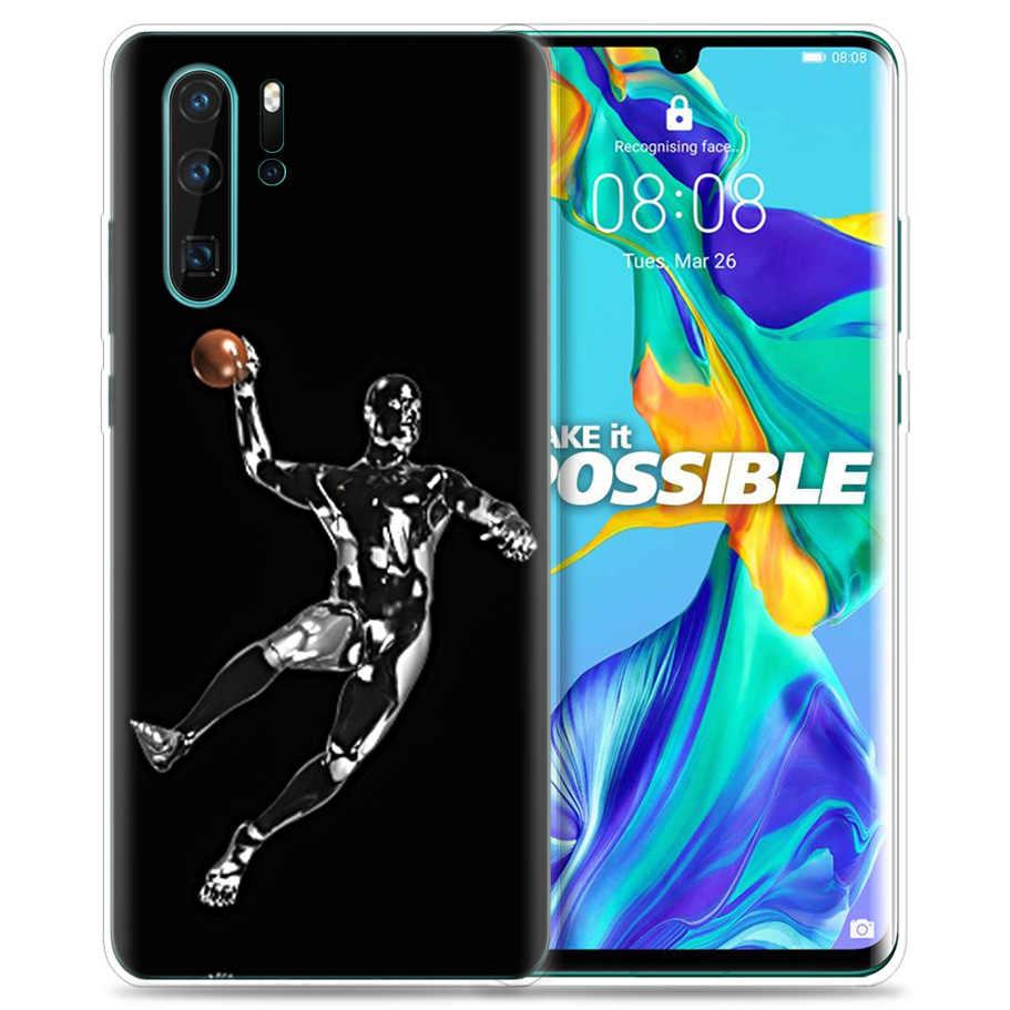 Étui pour huawei P30 P20 P10 P9 Mate 10 20 Lite Pro Sac De Téléphone Portable P Smart Z 2019 Plus Handball P8 P30Pro P20lite P10Lite