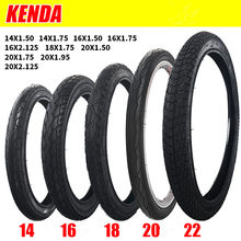 Kenda bicycle tyre 14/16/18/20/22 inch 1.5/1.75/1.95 child bike tyre For 406 Wheels ring(China)