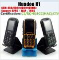 Huadoo H1 Телефон IP68 Водонепроницаемый Противоударный Пылезащитный Мобильный телефон На Открытом Воздухе старший Старик 2SIM телефон 2000 мАч 0.3MP ZUGS X1 X2 Z6