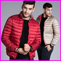 Winter Ultralight Down Jackets Coats Men Brand 90% White Duck Down Parkas Men Two Sides Wear Jacket Plus Size