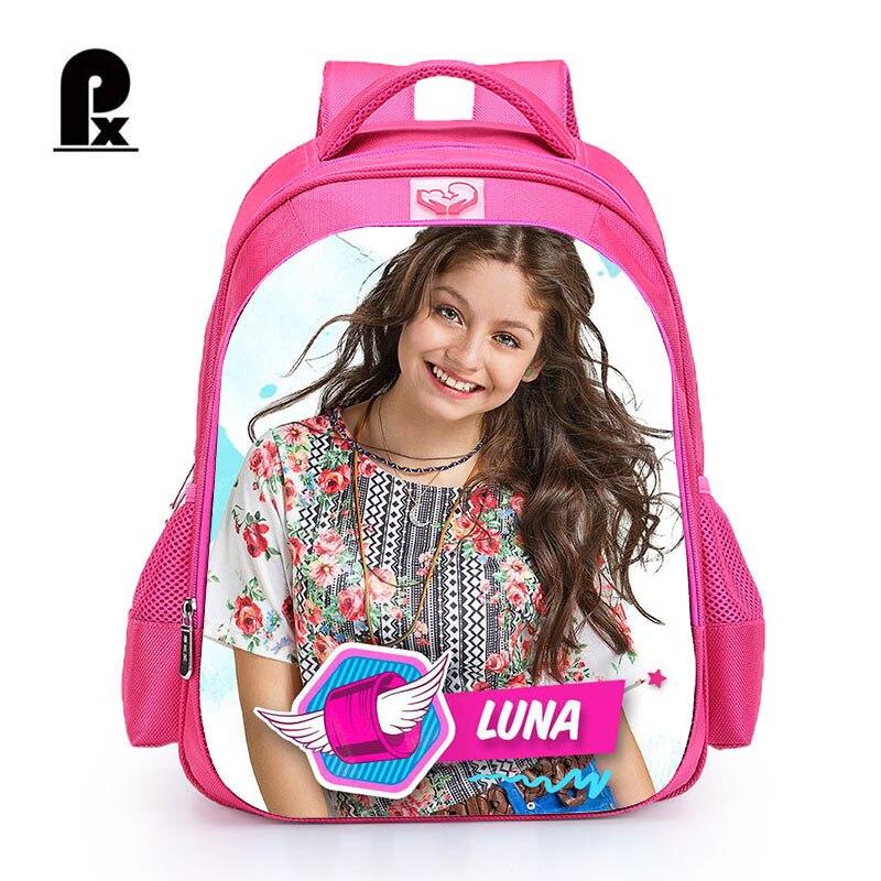 2018 Children Schoolbag Custom Made TV Show Soy Luna Backpack for Girl Teenager Girl Bac ...