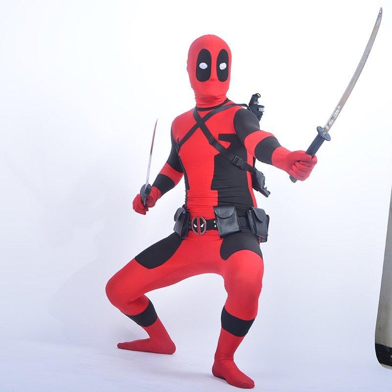 Cool KIds Deadpool κοστούμι κόκκινο πλήρες - Καρναβάλι κοστούμια - Φωτογραφία 6