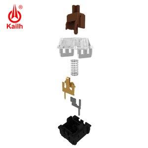 Image 5 - Kailh Long hua игровая механическая клавиатура переключатель SMD с коричневым/красным/синим/черным стержнем клавиш, с контактами