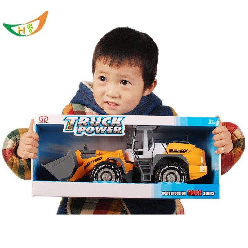 Kaidiwei moulé sous pression voitures 1: 18 grande taille magasin camion modèle jouet chariot élévateur bulldozer route rouleau modèle enfants jouets voiture jouets cadeau de noël