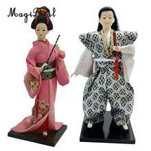 geisha dolls matted japaneese Silk
