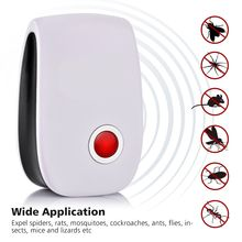Ultrasonic Anti Mosquito Repellent Insect Repeller Rejector for Mouse Mole Flies Cockroach Rat Bug Rejection Household Tool(China)