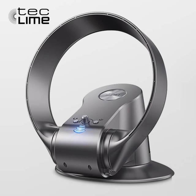 Teclime 2017 Neueste Design Blattloser Ventilator Mit Fernbedienung  Haushaltsgerät Elektrische Lüfter Kopf Schütteln Und Timing