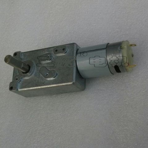 new Worm gear motor GW31CT-395-2.5 12V 2.5rpm brush DC motors at low speed image