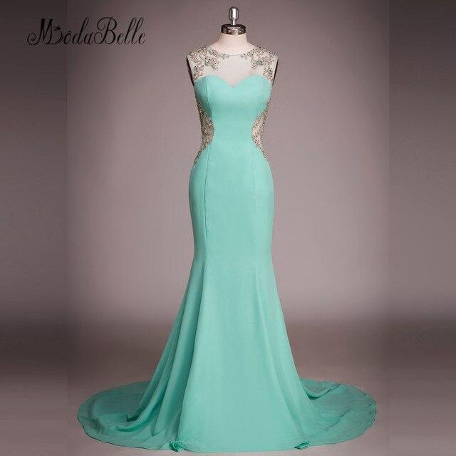 Venta Modabelle Menta Verde Sirena Formal Vestido De