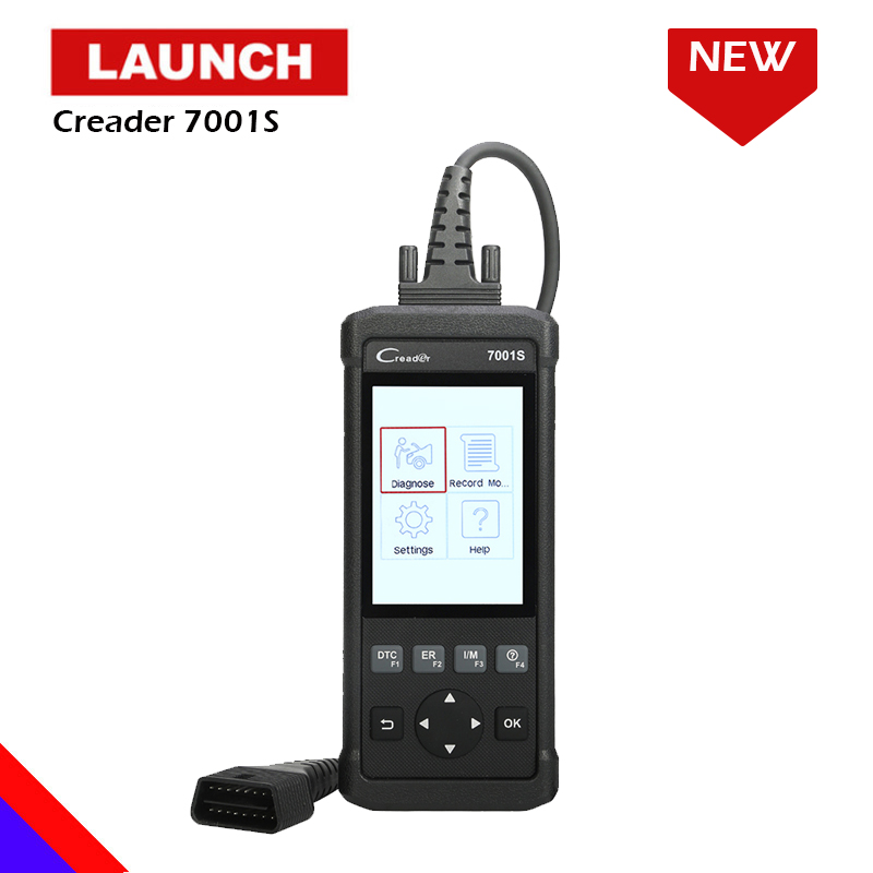 Launch Creader 7001S ABS Air Bag System Diagnostic Tool Full OBD2 Car Code Reader Scanner with Oil Reset Brake Reset CR7001S diagnostic tool launch cresetter ii x431 cresetter 2 lamp oil reset tool color lcd launch oil reset tool 100% original