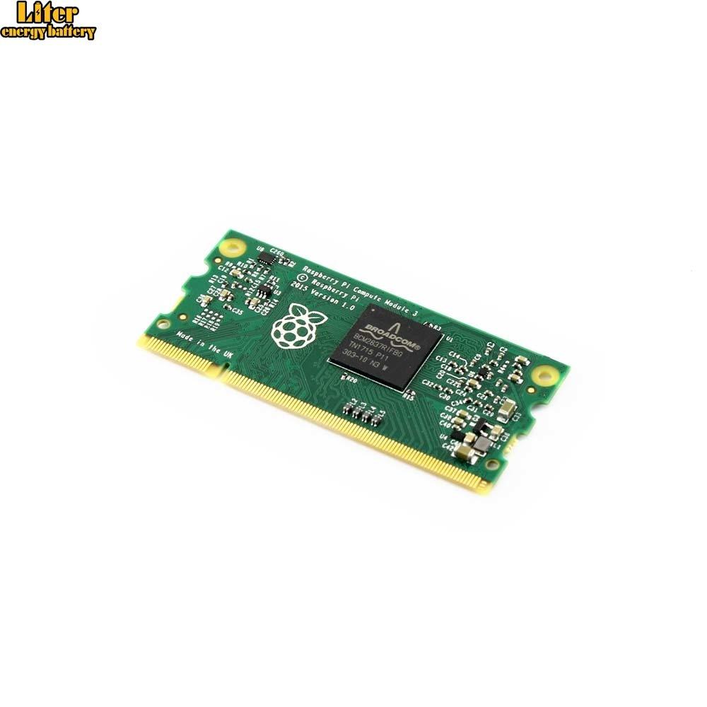 Raspberry Pi Compute Module 3 Contains The Guts Of A Raspberry Pi 3 4GB EMMC Flash 1.2GHz Quad-core ARM Cortex-A53 Processor
