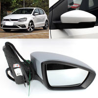 Automatic Folding Power Heated Side View Mirror For VW Polo 2014 2018