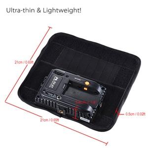 Image 2 - Falcon Gözler RX 8T 18 W Taşınabilir LED Fotoğraf Video Işığı 90 adet Su Geçirmez Esnek Katlanabilir Bez Lambası Difüzör