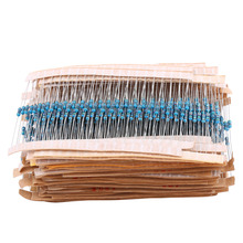1 Set of 1280pcs 1/4W 64 Values 1-10M ohm Metal Film Resistors Assortment Components Kit Set 1 set of 1280pcs 1 4w 64 values 1 10m ohm metal film resistors assortment components kit set