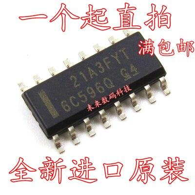 5pcs/lot TPIC6C596DRG4 TPIC6C596 6C596 SOP-16 In Stock