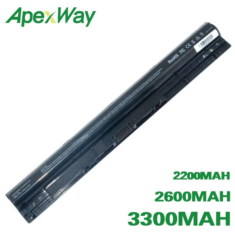 ApexWay Battery 1KFH3 HD4J0 M5Y1K K185W M5YIK KI85W WKRJ2 GXVJ3 For Dell Inspiron