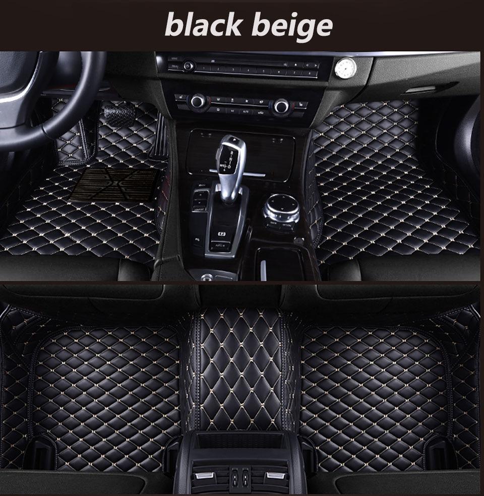 Pour Lhd Eu Renault Captur B plate-forme 2018 2017 2016 2015 2013 tapis de sol de voiture tapis personnalisés tapis en cuir Auto accessoires pour Lh