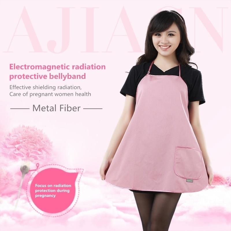 079ee5bfa78da Free Shipping Electromagnetic radiation protection household pregnant woman  apron EMF shielding anti-radiation stomachers