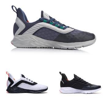 Li-ning Hommes Fou Course Coussin Chaussures De Course Léger Flexible Doublure Soutien Chaussures De Sport Confort Baskets ARHP007 XYP868