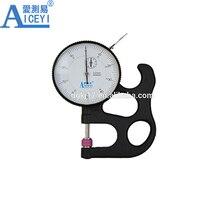 Alta Precisión papel dial medidor de espesor