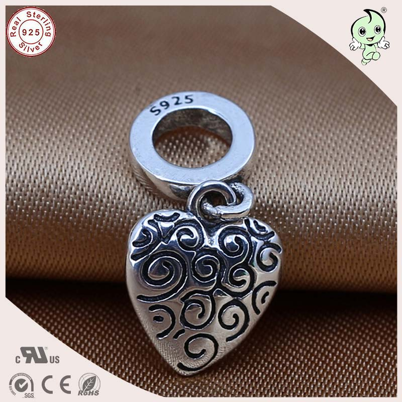 Hot sale hot sale popular and cool heart shape 925 solid silver hot sale popular and cool heart shape 925 solid silver devil nut pendant charm for mum aloadofball Gallery