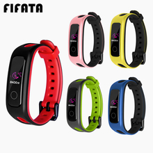 FIFATA For Huawei Honor 4 Running Sport TPU Bracelet Strap Silicone Replacement Band Strap For Huawei Band 4E/3E Smart Wristband youkex 2017 new strap for huawei honor band 3 replacemnt fashion sport silicone band 6 colors for huawei honor3 smart wristband