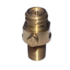 Image 2 - M18x1.5 резьба содовой поток бак производитель клапан Адаптер пополнения CO2