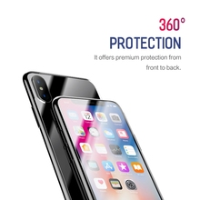 ROCK 2 Pcs Set 9H Tempered Glass for iPhone X