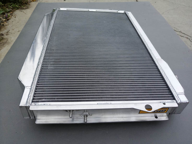 Detail Feedback Questions about 56MM 3ROW Aluminum Radiator FOR