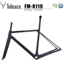2019 Size Max 60cm T1000 Only 850g Full Carbon Aero oem road bike frames fork seatpost Bicycle frameset imlight t1000 50