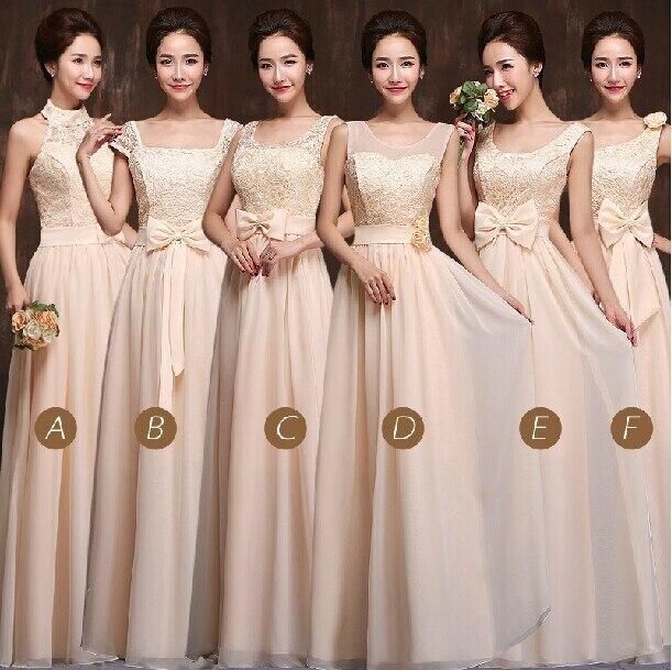 Dama de honor vestidos elegantes vestido largo barato del