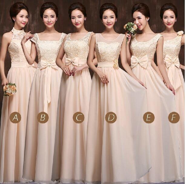 Vestidos para damas de honor largos