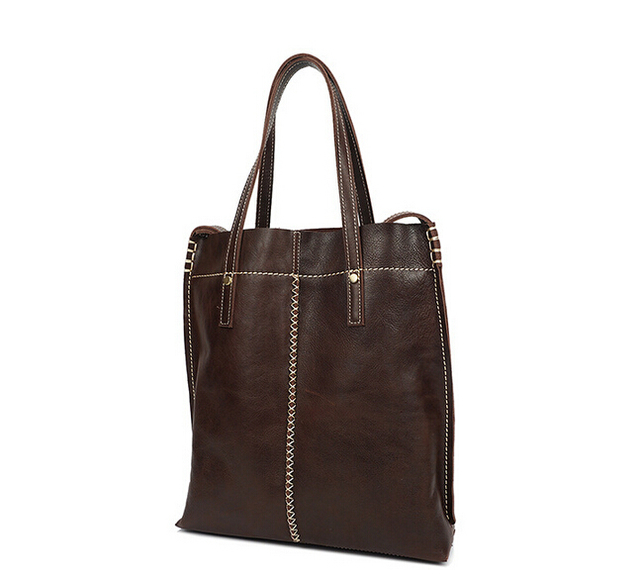 Leather female bag, shoulder bag. Free shipping
