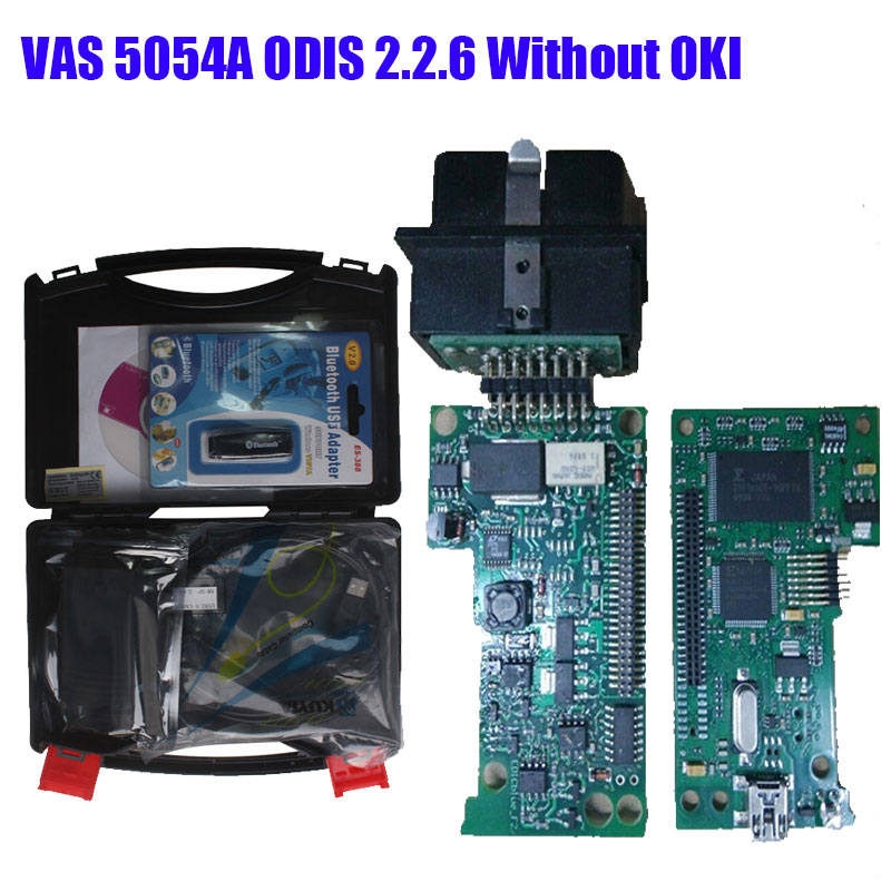 VAS5054A Bluetooth VAS 5054A ODIS 4.13 Car diagnostic-tool Without OKI vas 5054 VAS5054 obd2 Scanner support UDS Protocol mini elm327 l v1 5 obd2 bluetooth car diagnostic tool scanner interfac