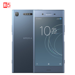 Image 4 - סמארטפון מקורי Sony X peria XZ1 G8342/G8341 64G ROM 4G RAM 19MP אוקטה Core NFC אנדרואיד 7.1 טלפון נייד 2700mAh אנדרואיד