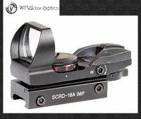 Vector Optics IMP 1x23x34 Reflex Red Green Dot Sight Scope World War Z Edition Zombie Stop